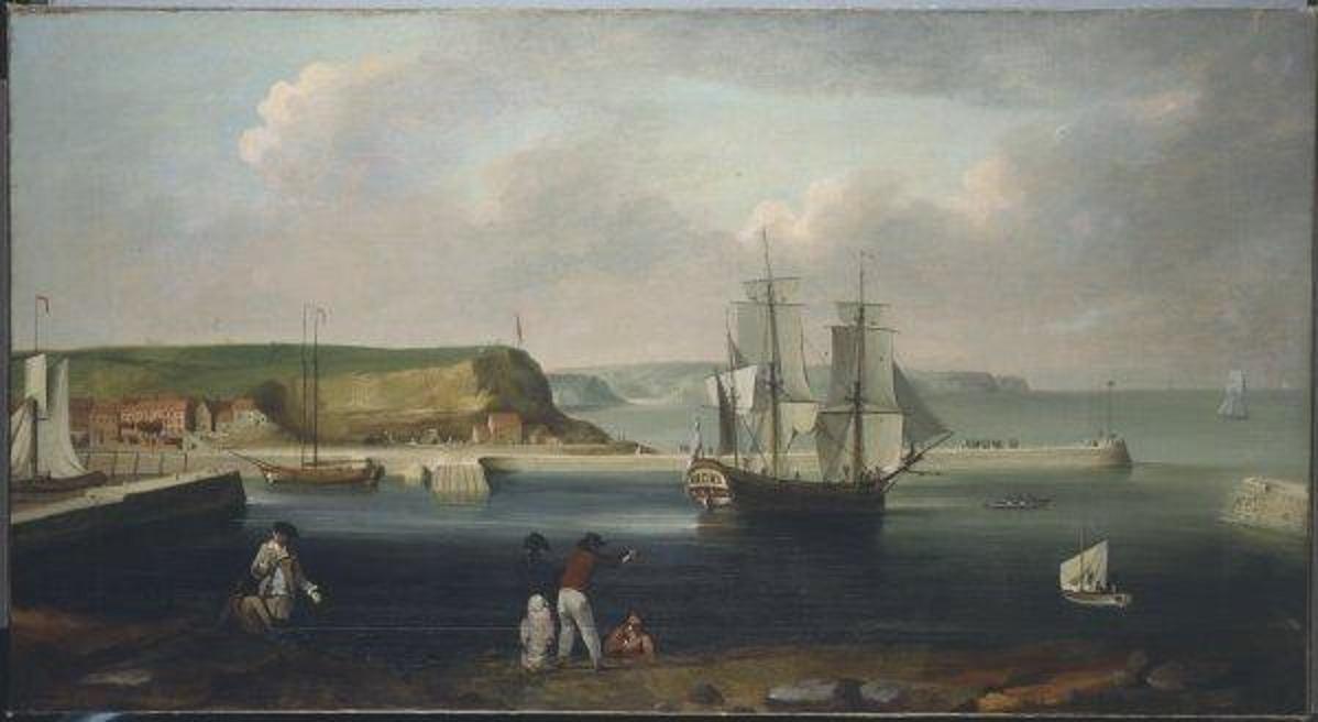Endeavour,_Thomas_Luny_1768
